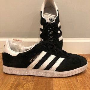 Adidas Gazelle's (only worn once). M9.5 / W11.